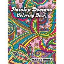 Paisley Designs Colouring