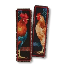 Rooster and Hen Bookmarks