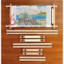 Split Rail Scroll Frames
