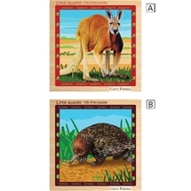 Little Aussies Wooden Jigsaws