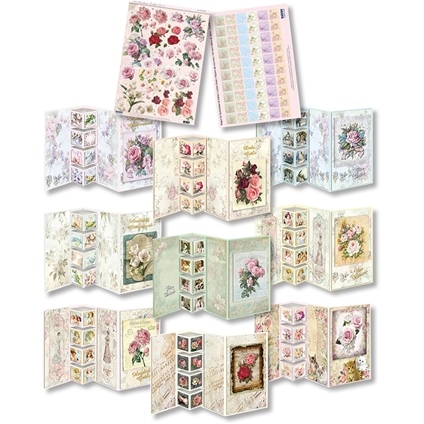 Shabby Chic II - 3D Greeting Card Kit