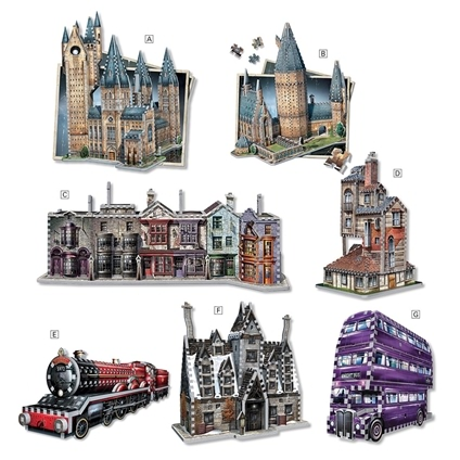 Harry Potter 3D Puzzles