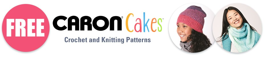 FREE Caron Cakes Patterns!
