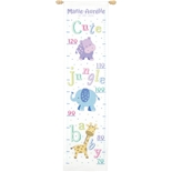 Cute Jungle Baby Height Chart