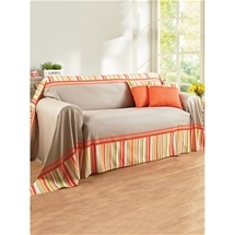 Stylish Stripe Couch Cover