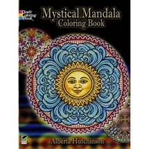 Mystical Mandala Colouring Book