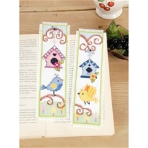 Birdhouses Bookmarks