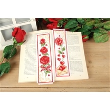 Sweet Roses Bookmarks