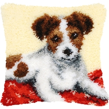 Jack Russel Pup Cushion