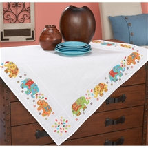 Elephants Table Topper