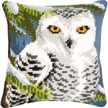 Snow Owl Cushion