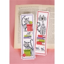 Cats on Books Bookmarks