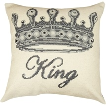 King Zippered Cushion Cover