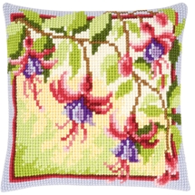 Fuschias Cushion