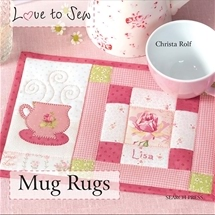 Love To Sew - Mug Rugs