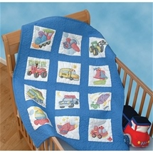 Transportation Nursery Quilt Blocks