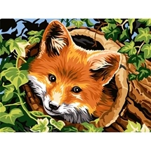 Fox Tapestry Canvas
