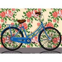 Bicycle Tapestry Canvas