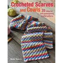 Crocheted Scarves and Cowls