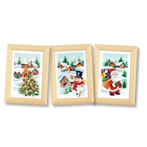 Christmas Trio Miniatures