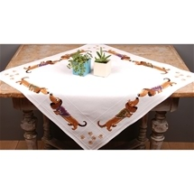 Daschund Tablecloth