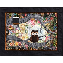 Ollie Owl - Watercolour Quilt Kit