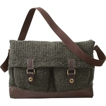 Knitted Bags from France - Shoulder Satchel