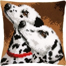 Dalmation Duo Cushion