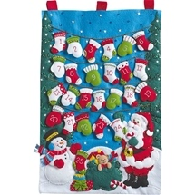 Mittens and Stockings Advent Calendar
