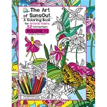 The Art of Sunsout Colouring Book