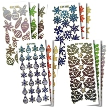 Christmas Pattern Stickers
