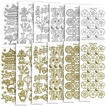 Asian Style Stickers