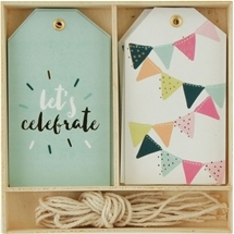 Lucky Dip Gift Tags - Let's Celebrate