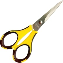 Teflon Scissors - Stainless Steel Fine Tip
