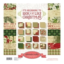 It's Beginning To Look A Lot Like Christmas - Large Papers