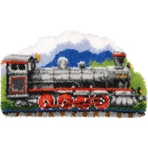 Steam Train Rug