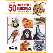 50 Cross Stitch Quickies Animals and Friends