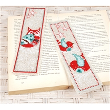 Owl and Birds Bookmark