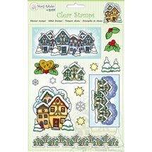 Christmas Houses Clear Stamp Set