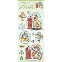 Winter Animals Clear Stamps
