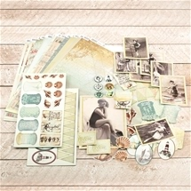 Sea Breeze Papercraft Kit