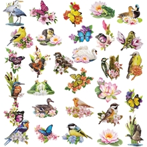 Summer - 3D Decoupage Card Toppers