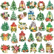 Christmas - 3D Decoupage Card Toppers