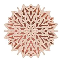 Poinsettia Doily Cut, Foil and Emboss Die