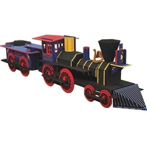 Build A Locomotive Book and Model Set
