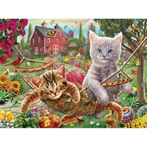 Cats On The Farm Puzzle
