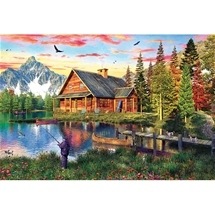Fishing Cabin Puzzle