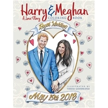 Harry and Megan Colouring Book