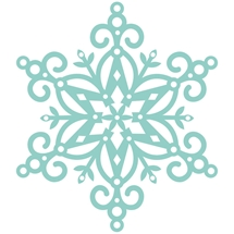 Decorative Die - Fancy Snowflake