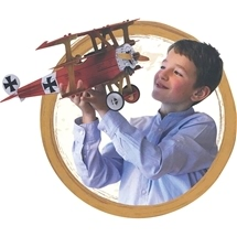 Build An Airplane Book and Model Set